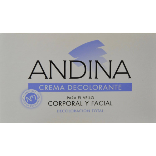 CREMA DECOLORANTE 100 ML ANDINA