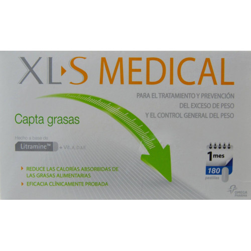 CAPTA GRASAS XL-S MEDICAL OMEGA PHARMA