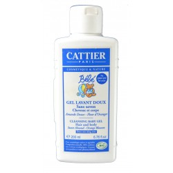 GEL DE BAÑO BIO PARA BEBÉ 200 ML CATTIER