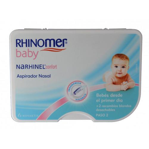 ASPIRADOR NASAL NARHINEL CONFORT RHINOMER BABY NOVARTIS