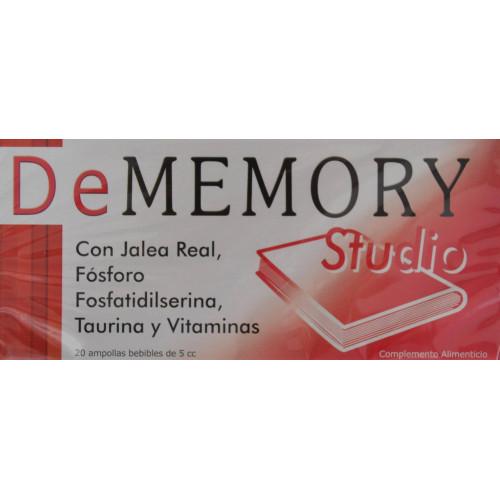 DEMEMORY STUDIO 20 AMPOLLAS BEBIBLES