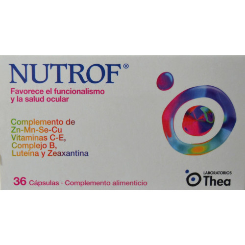 NUTROF 36 CÁPSULAS LABORATORIOS THEA