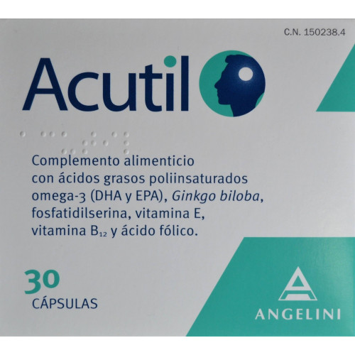 ACUTIL 30 CÁPSULAS ANGELINI