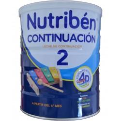 LECHE DE CONTINUACIÓN 2 800 G NUTRIBÉN