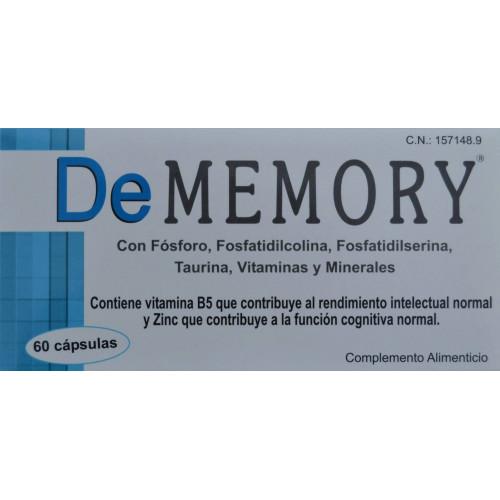 DE MEMORY 60 CÁPSULAS LABORATORIOS GRAMAR