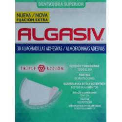 DENTADURA SUPERIOR 30 ALMOHADILLAS ADHESIVAS ALGASIV