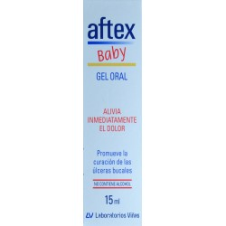 GEL ORAL AFTEX BABY 15 ML LABORATORIOS VIÑAS