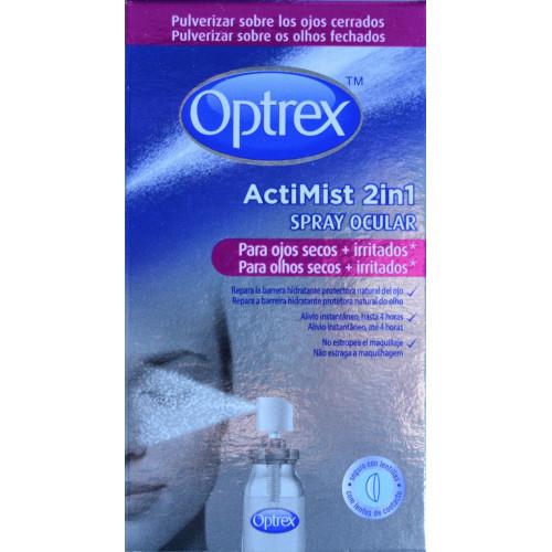 SPRAY OCULAR OPTREX ACTIMIST 2 EN 1 10 ML