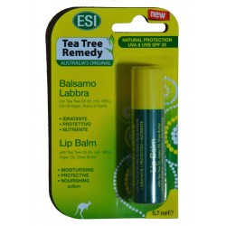 BÁLSAMO PARA LOS LABIOS AL LIMÓN TEA TREE REMEDY 5,7 ML ESI