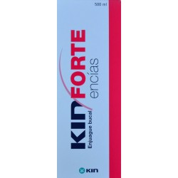 ENJUAGUE BUCAL KIN FORTE ENCÍAS 500 ML KIN