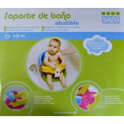 SOPORTE DE BAÑO ABATIBLE +6 M SARO