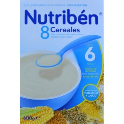 NUTRIBÉN 8 CEREALES DESDE 6 MESES 600 G