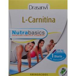 L-CARNITINA 48 CÁPSULAS VEGETALES DRASANVI