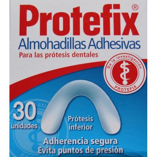 PROTEFIX 30 ALMOHADILLAS ADHESIVAS PRÓTESIS INFERIOR