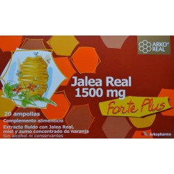 JALEA REAL FORTE PLUS 1500 MG 20 AMPOLLAS ARKOPHARMA