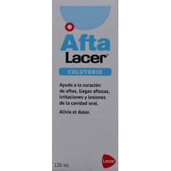 COLUTORIO AFTA 120 ML LACER