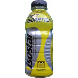 ISOSTAR FAST HYDRATION LEMON FLAVOUR 500 ML