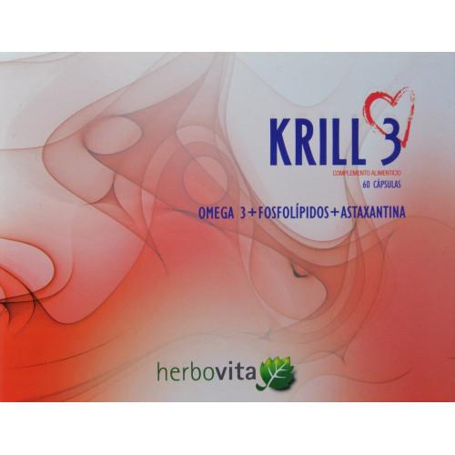 KRILL 3 60 CÁPSULAS HERBOVITA
