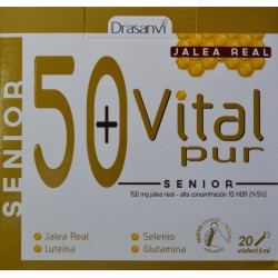 VITAL PUR 50+ SENIOR 20 VIALES DRASANVI