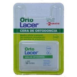 CERA DE ORTODONCIA 5 BARRAS DE CERA + 2 GRATIS ORTO LACER