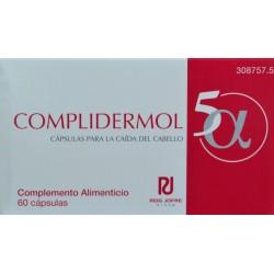 COMPLIDERMOL 5α 60 CÁPSULAS LABORATORIOS MEDEA