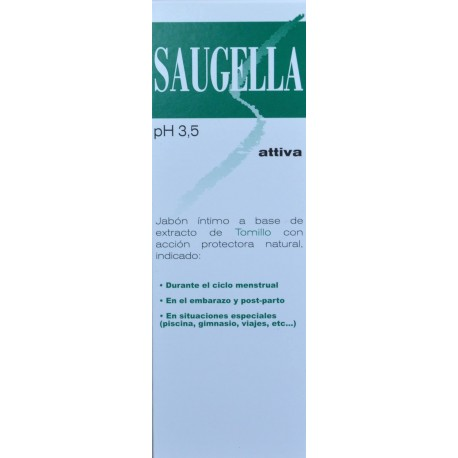SAUGELLA PH 3,5 ATTIVA 250 ML ROTTAPHARM