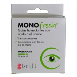 MONOFRESH 10 MONODOSIS X 0,4 ML BRILL