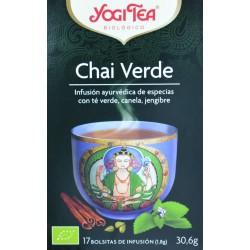 CHAI VERDE 17 BOLSITAS YOGI TEA