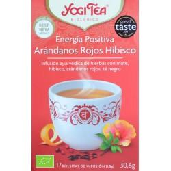 ENERGÍA POSITIVA 17 BOLSITAS DE INFUSIÓN YOGI TEA