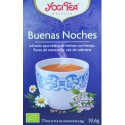 BUENAS NOCHES 17 BOLSITAS DE INFUSIÓN YOGI TEA