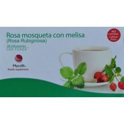 ROSA MOSQUETA CON MELISA 20 INFUSIONES CON FUNDA MYCOFIT