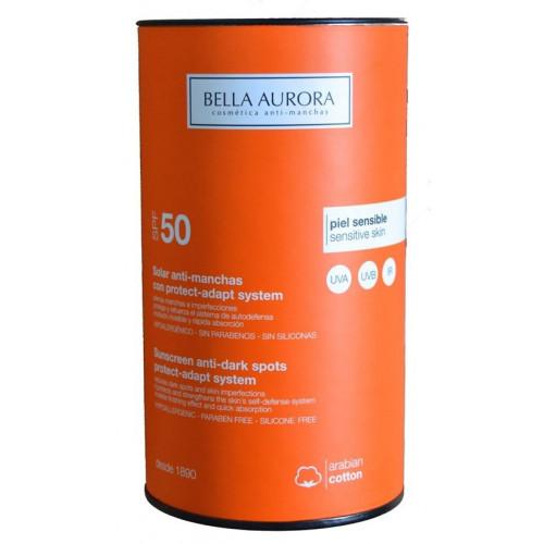 SOLAR ANTI-MANCHAS CON PROTECT-ADAPT SYSTEM SPF 50 50 ML BELLA AURORA