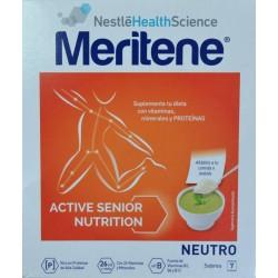 MERITENE ACTIVE SENIOR NUTRITION NEUTRO 7 SOBRES NESTLÉ