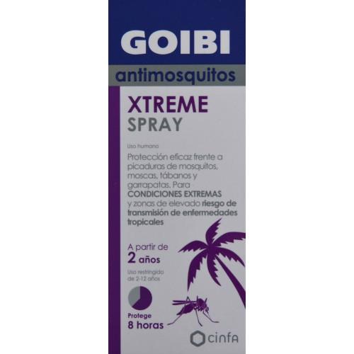 ANTIMOSQUITOS GOIBI XTREME SPRAY 75 ML CINFA