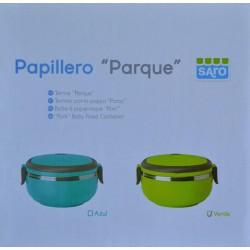 """PAPILLERO """"PARQUE"""" COLOR VERDE 700 ML SARO"""