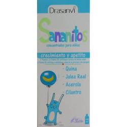 SANANITOS CRECIMIENTO Y APETITO 150 ML DRASANVI