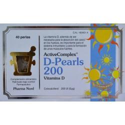 D-PEARLS 200 ACTIVE COMPLEX 40 PERLAS PHARMA NORD