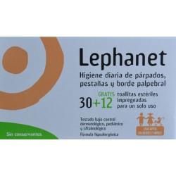 LEPHANET 30 + 12 TOALLITAS ESTÉRILES