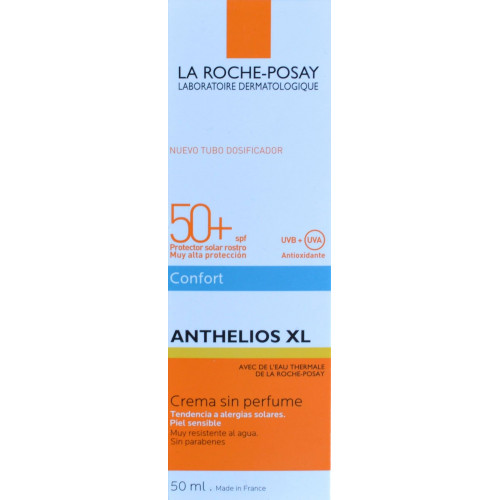 ANTHELIOS XL CREMA SIN PERFUME SPF 50+ 50 ML LA ROCHE-POSAY