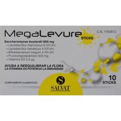 MEGALEVURE 10 STICKS SALVAT