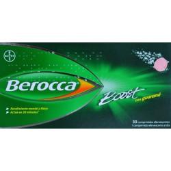 BEROCCA BOOST 30 COMPRIMIDOS EFERVESCENTES BAYER