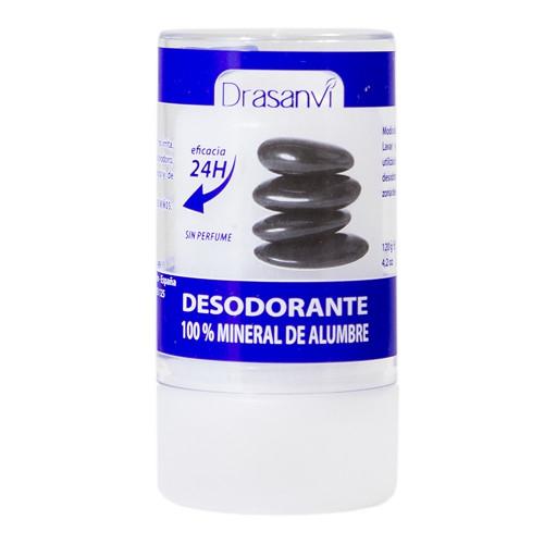 DESODORANTE 100% MINERAL DE ALUMBRE 120 G DRASANVI
