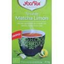 TÉ VERDE MATCHA LIMÓN 17 BOLSITAS DE INFUSIÓN YOGI TEA