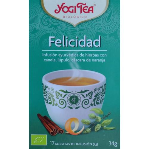 FELICIDAD 17 BOLSITAS YOGI TEA