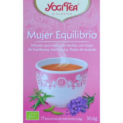 MUJER EQUILIBRIO 17 BOLSITAS YOGI TEA