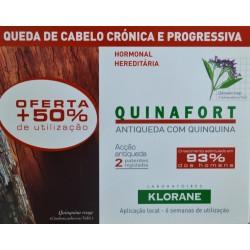 QUINAFORT 18 AMPOLLAS DE 5 ML KLORANE