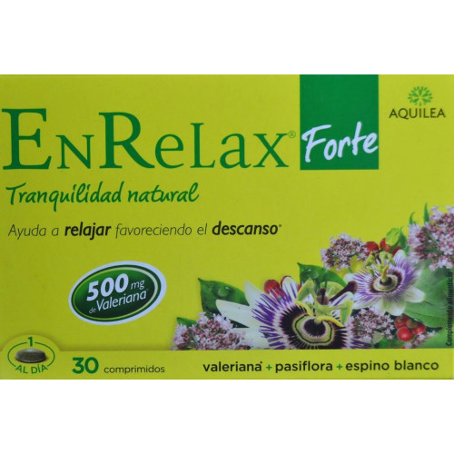 ENRELAX FORTE 30 COMPRIMIDOS AQUILEA