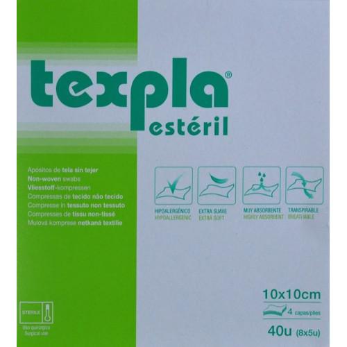 TEXPLA ESTÉRIL 40 U 10 X 10 CM