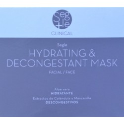 HYDRATING & DESCONGESTANT MASK PACK 3 BOLSITAS DOBLES SEGLE CLINICAL