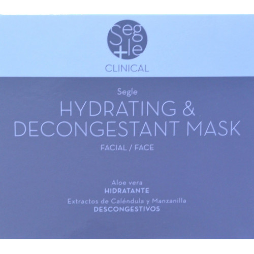 HYDRATING & DESCONGESTANT MASK PACK 3 BOLSITAS DOBLES SEGLE CLINICAL